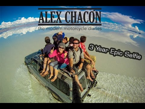 3 Year Epic Selfie - Around the World in 360° Degrees - Part
