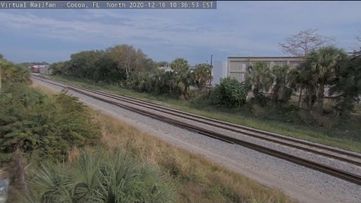 Cocoa, Florida USA   Cam of the Week – Virtual Railfan LIVE