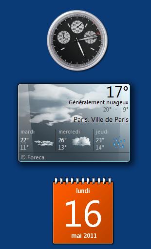 Gadget Meteo Pour Windows 7 Gratuit Rapide Et Sr