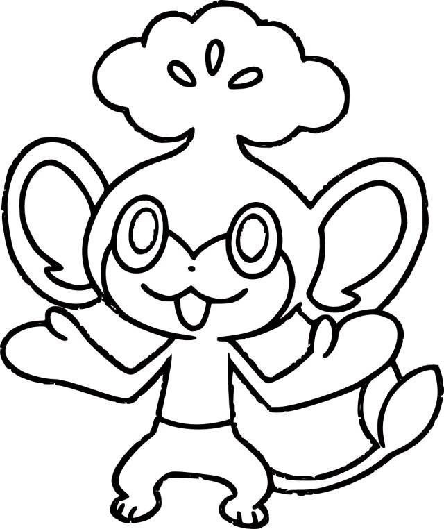 Evoli : Coloriage Pokemon Evoli à imprimer et à colorier