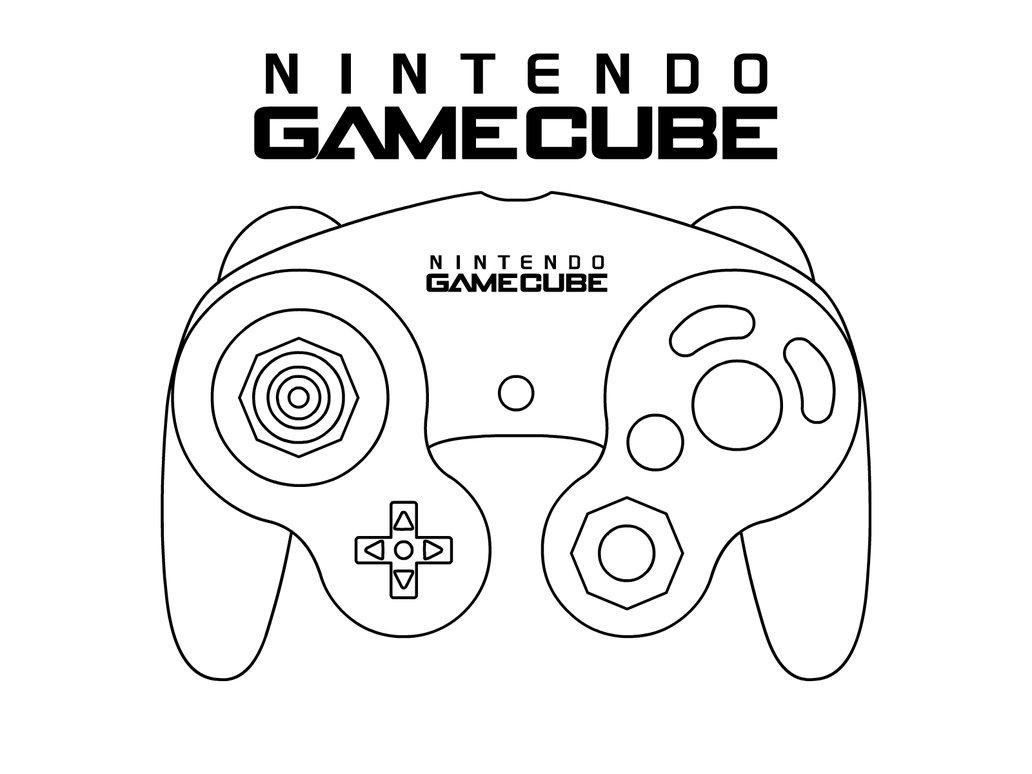 Console De Jeux Coloriage