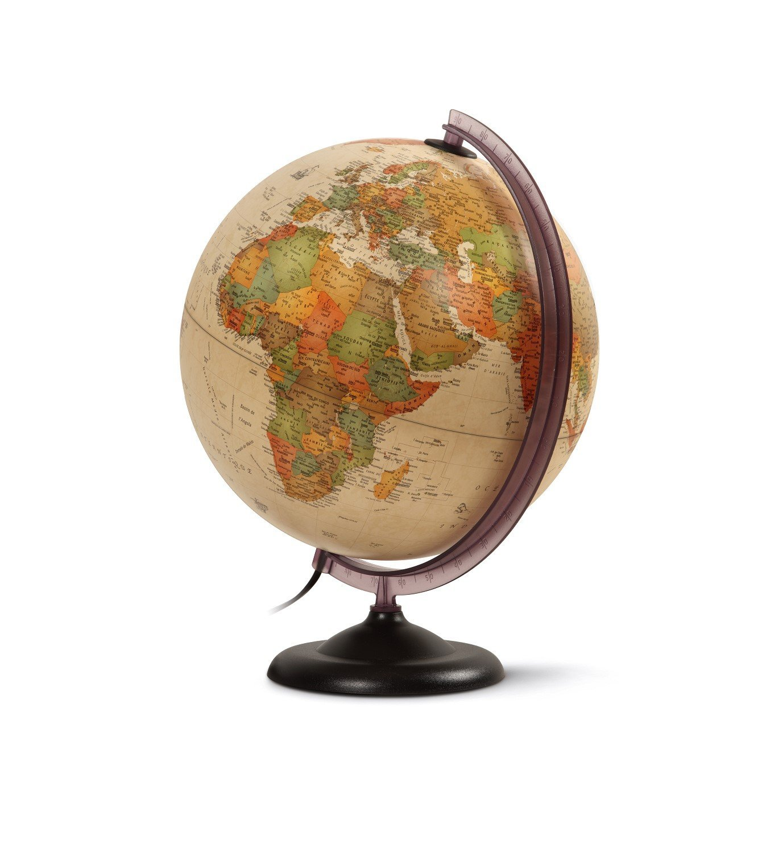 Coloriage Globe Terrestre Ancien Gratuit Imprimer