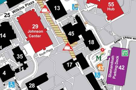 Campus Map James Madison University Clothes and such