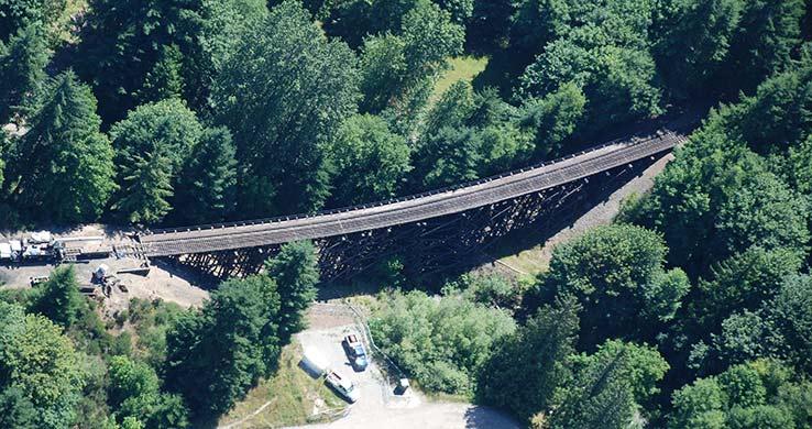 RR Bridge Aerial