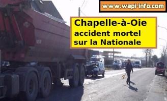Accident mortel ce mercredi 11 mars après-midi sur la Nationale entre Leuze et Ath