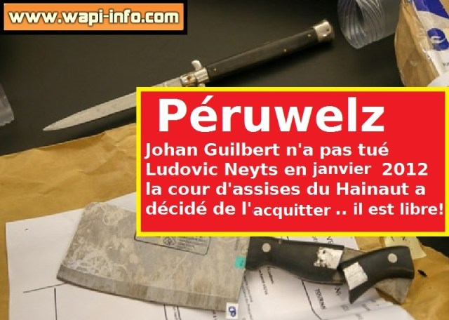 Johan Guilbert est libre