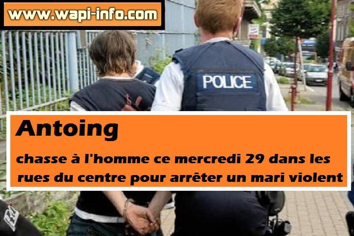 arrestation antoing