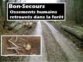 Bon-Secours : un squelette humain découvert par deux chasseurs - le décès « remonte à plusieurs mois »