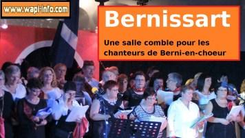 Bernissart : une salle comble pour la chorale