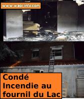 Condé-sur-l'Escaut : «Fournil du Lac» dévastée par un incendie