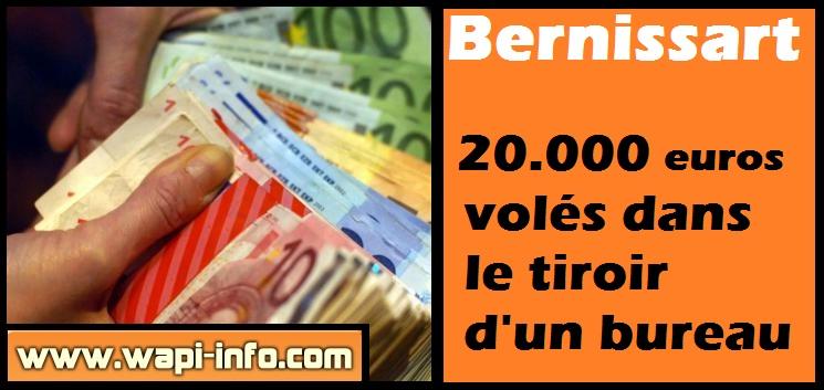 Argent euros liasse