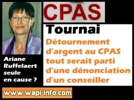 Tournai : détournement d'argent au CPAS tout serait parti d'une dénonciation d'un conseiller