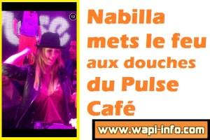 Pecq : Nabilla mets le feu aux douches du Pulse Café (+ vidéo)
