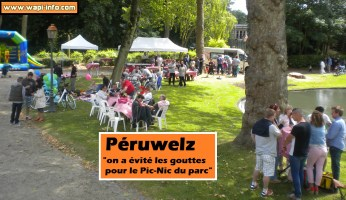 """Péruwelz : """"on a évité les gouttes pour le Pic-Nic du parc"""" (+vidéo +photos)"""