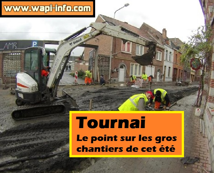 point chantier tournai