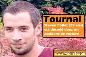 Tournai : Steven Pollet (29 ans) est décédé dans l'accident et Grégoire De Cruyenaere est grièvement blessé