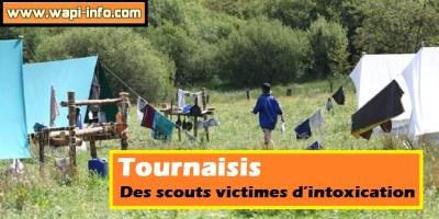 Tournaisis : plusieurs scouts hospitalisés