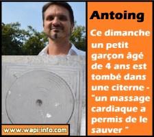 """Antoing : un petit garçon est tombé dans une citerne - """"un massage cardiaque a permis de le sauver"""""""