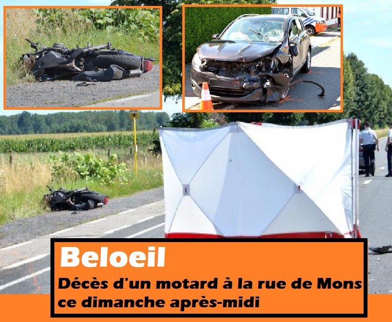Beloeil deces motard