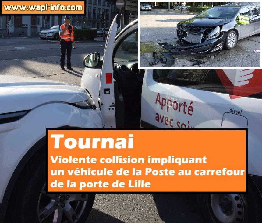 Porte lille Tournai