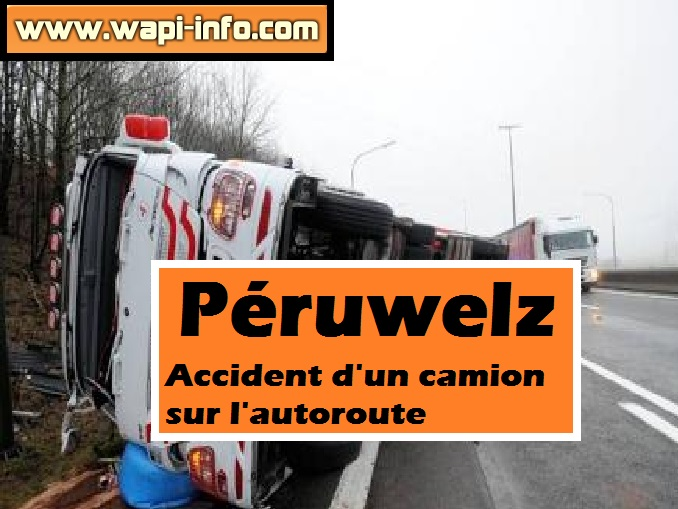 accident camion peruwelz