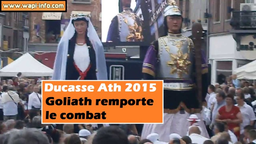 goliath combat 2015 ducasse ath