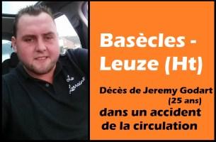 Basècles - Leuze (Ht) : décès de Jeremy Godart (25 ans) dans un accident de circulation