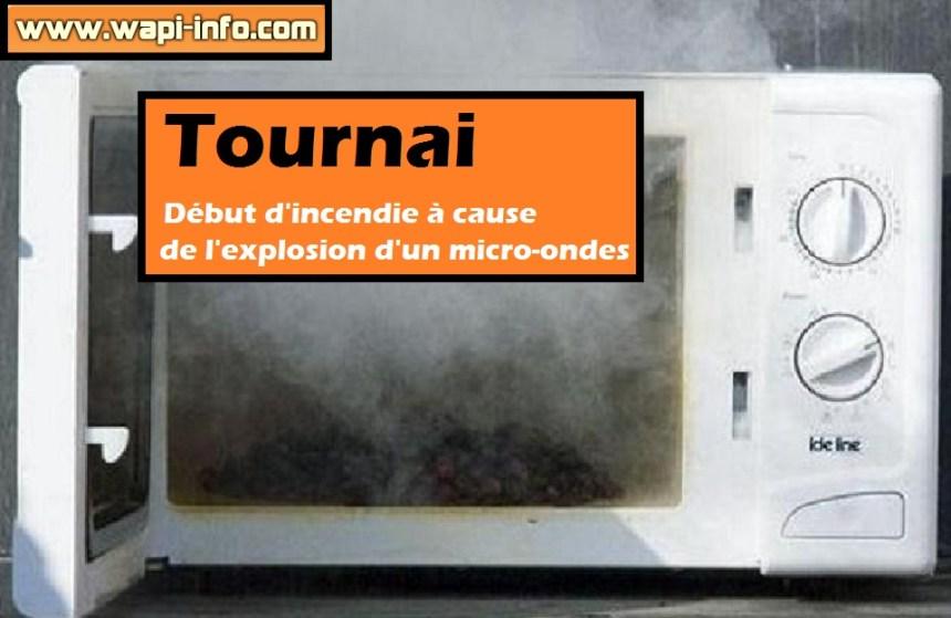 Tournai debut incendie