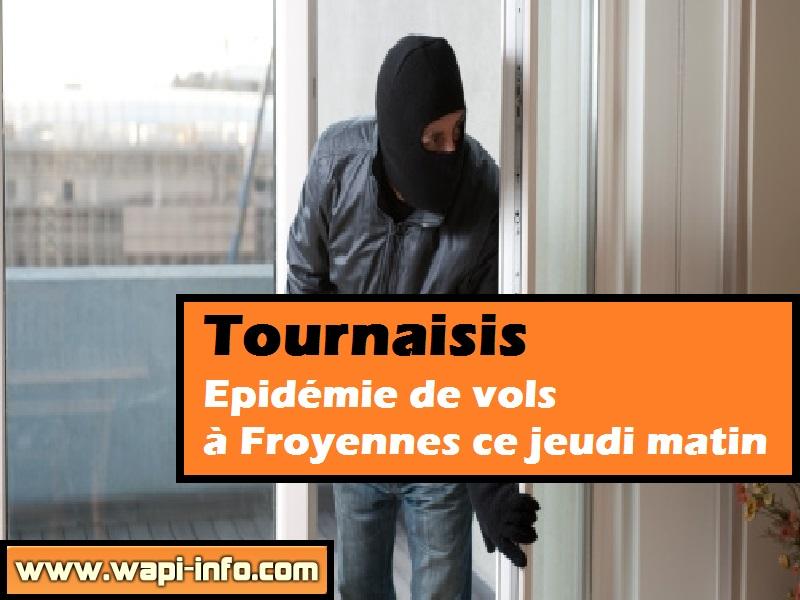 epidemie vols Froyennes
