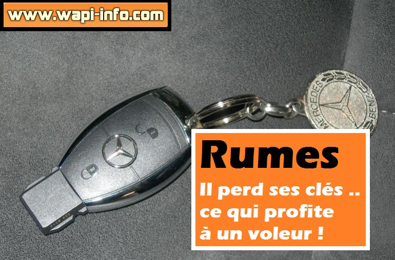 rumes vol voiture