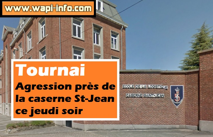 tournai agression saint jean jeudi
