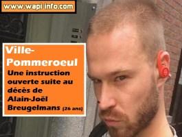 Ville-Pommeroeul : une instruction ouverte suite au décès Alain-Joël Breugelmans (26 ans)