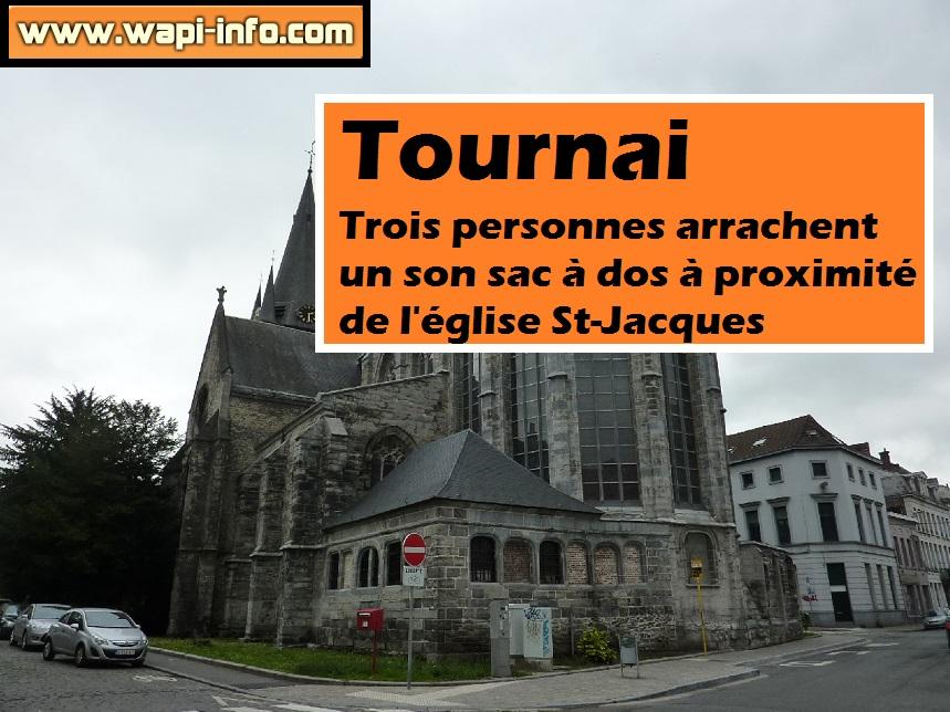 Tournai arrache sac a dos