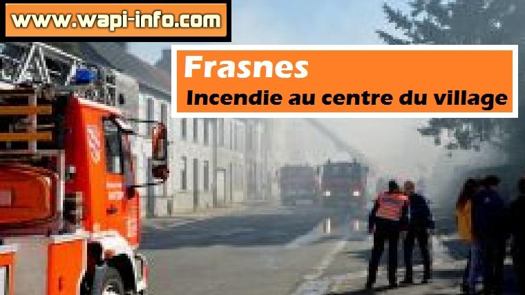 frasnes incendie