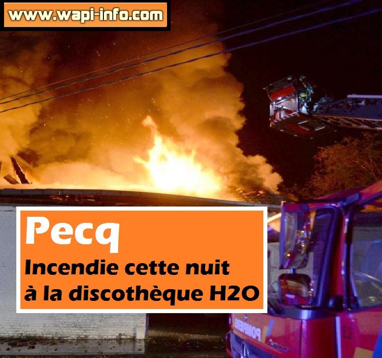 pecq incendie h2o