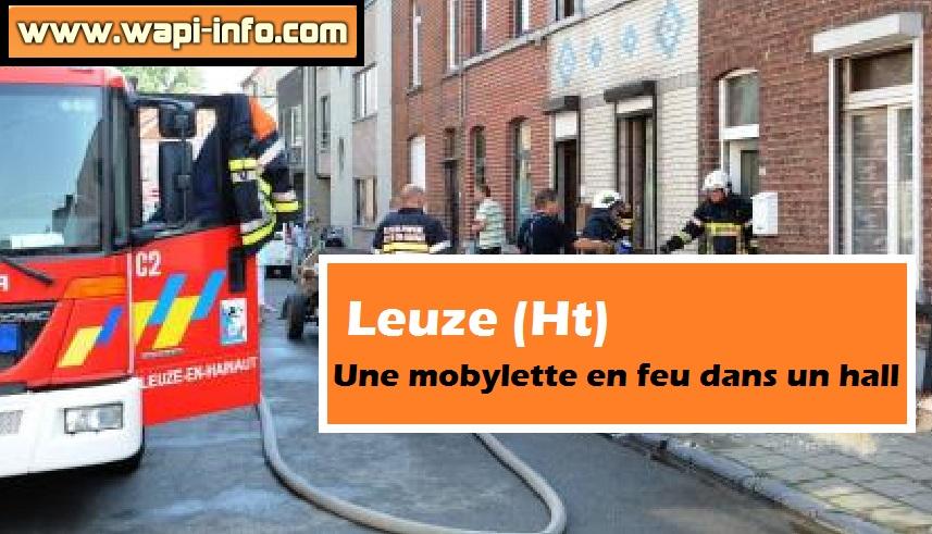 pompiers leuze