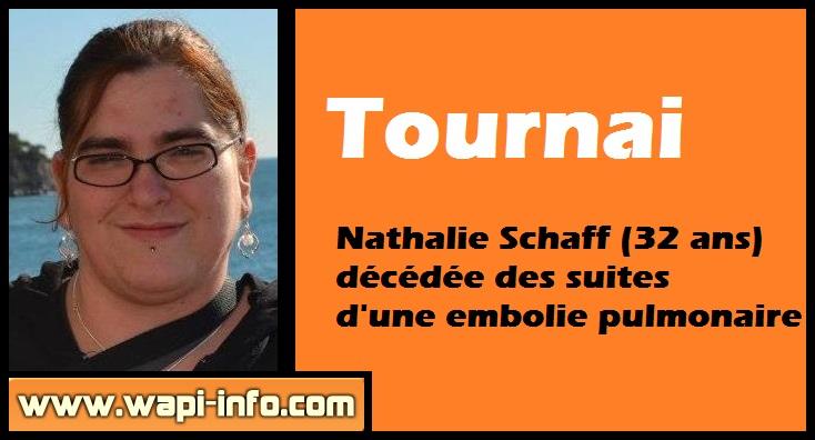 Nathalie Schaff deces