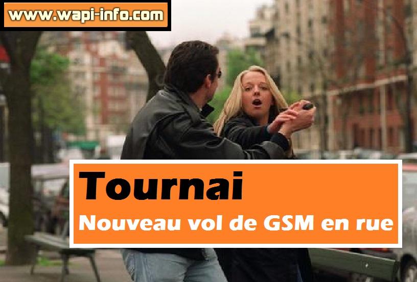Tournai vol de gsm