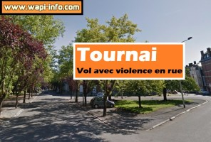 Tournai : vol avec violence en rue