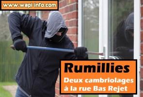 Rumillies : deux cambriolages à la rue Bas Rejet ce mercredi soir