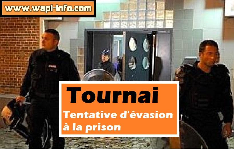 tentative evasion prison tournai