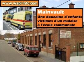 Mainvault : une douzaine d'enfants victimes d'un malaise à l'école communale