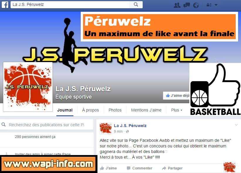 Peruwelz basket ball