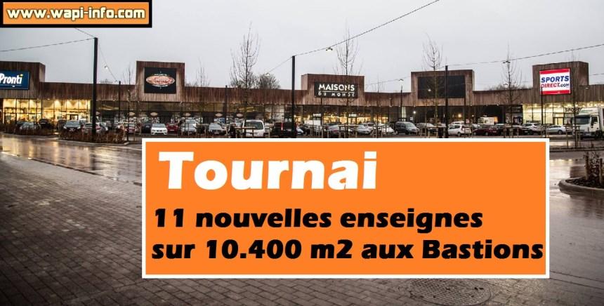Tournai retail park bastions