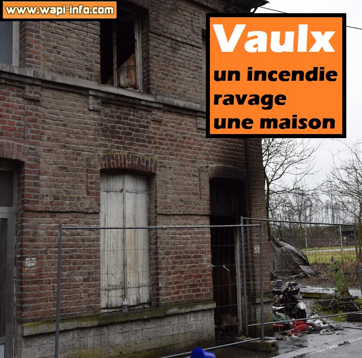 Vaulx incendie