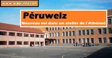 Péruwelz : nouveau vol dans un atelier de l'Athéneé