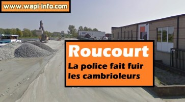 Roucourt : la police fait fuir les cambrioleurs