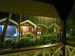 Rain at Coral View Island Resort - Perhentians - Malaysia