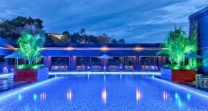 Hilton Kota Kinabalu rooftop swimming pool (credits: Hilton)