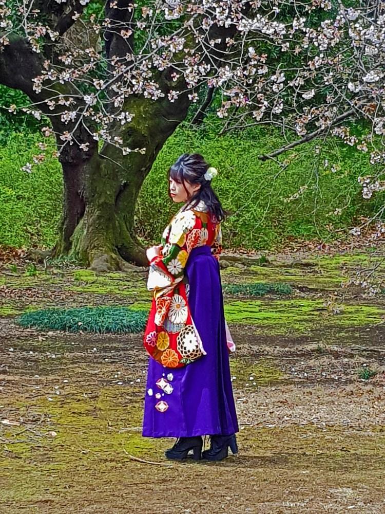 Shinjuku Gyoen Kimono